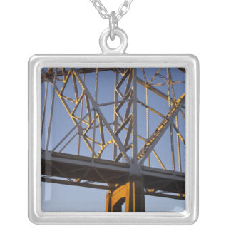 USA, Louisiana, New Orleans. Greater New Silver Plated Necklace