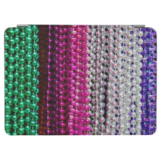 USA, Louisiana, New Orleans. Mardi Gras Beads iPad Air Cover
