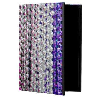 USA, Louisiana, New Orleans. Mardi Gras Beads iPad Air Cover