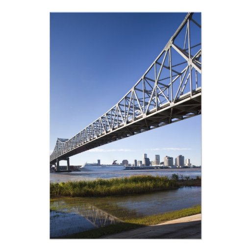 USA, Louisiana, New Orleans. Skyline from the 2 Art Photo