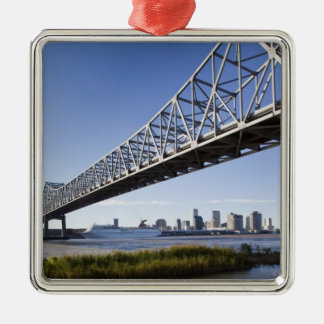USA, Louisiana, New Orleans. Skyline from the Christmas Ornament