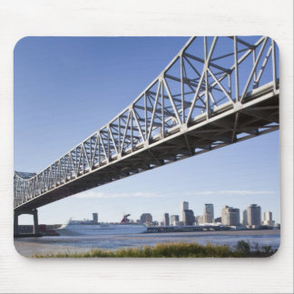 USA, Louisiana, New Orleans. Skyline from the Mouse Mat