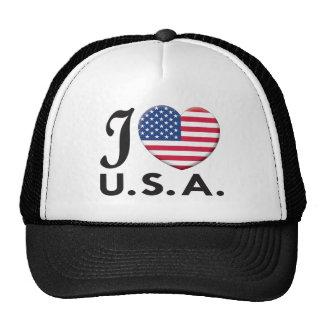 USA Love Trucker Hat