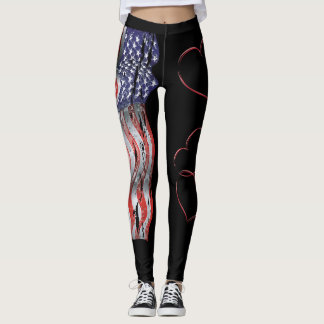 USA Love Leggings