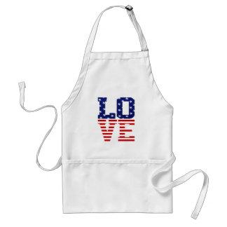 USA LOVE STANDARD APRON