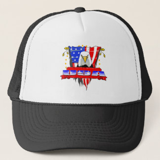 USA Mad Eagle Trucker Hat