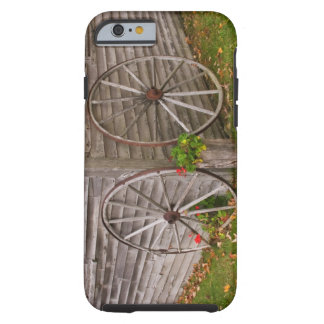 USA, Main. Wagon Wheels Tough iPhone 6 Case