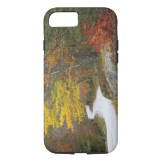 USA, Maine, Camden. Road leading through Camden iPhone 8/7 Case