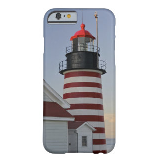 USA, Maine, Lubec. West Quoddy Head Lighthouse, Barely There iPhone 6 Case
