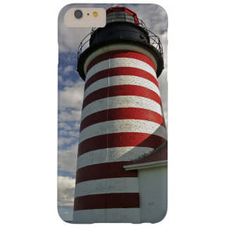 USA, Maine, Lubec. West Quoddy Head LIghthouse Barely There iPhone 6 Plus Case