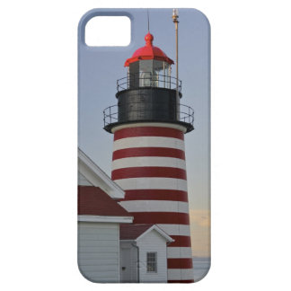 USA, Maine, Lubec. West Quoddy Head Lighthouse, iPhone 5 Case