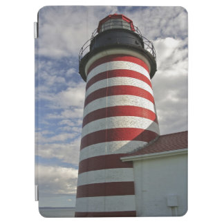 USA, Maine, Lubec. West Quoddy Head LIghthouse iPad Air Cover