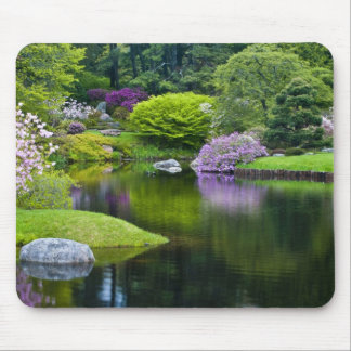 USA, Maine, Northeast Harbor. View of Asticou 2 Mouse Mat