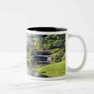 USA, Maine, Northeast Harbor. View of Asticou Two-Tone Coffee Mug