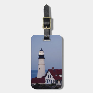 USA, Maine, Portland, Cape Elizabeth, Lighthouse Bag Tag