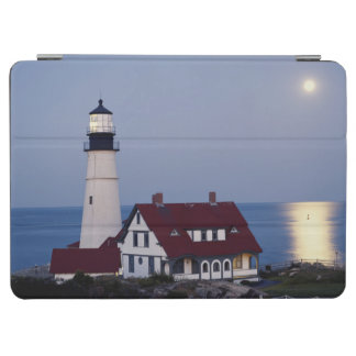 USA, Maine, Portland, Cape Elizabeth, Lighthouse iPad Air Cover