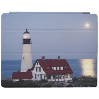 USA, Maine, Portland, Cape Elizabeth, Lighthouse iPad Cover