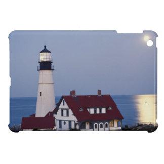 USA, Maine, Portland, Cape Elizabeth, Lighthouse iPad Mini Cases