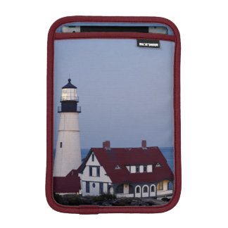 USA, Maine, Portland, Cape Elizabeth, Lighthouse iPad Mini Sleeve