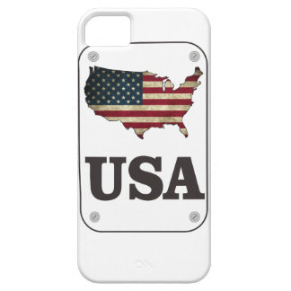 USA Map American Flag iPhone 5 Cover