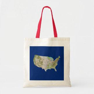 USA Map Bag