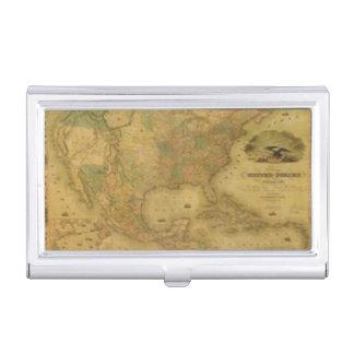 USA Map Business Card Holder