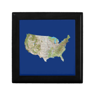 USA Map Gift Box