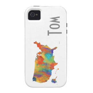 USA MAP - iPhone 4/4S Case