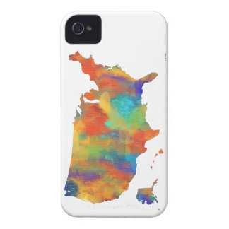 USA MAP - iPhone 4 Case