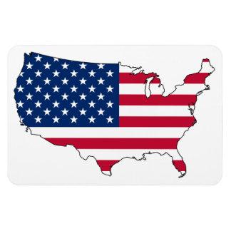 USA MAP MAGNETS