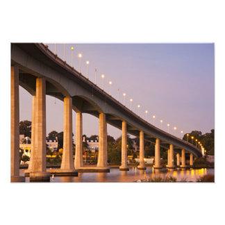 USA, Maryland, Annapolis. Severn River bidge, Photo