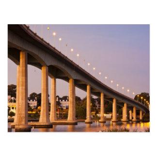 USA, Maryland, Annapolis. Severn River bidge, Postcard