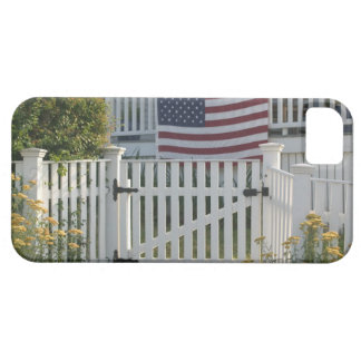 USA, Massachusettes, Gloucester: Patriotic Fence Barely There iPhone 5 Case