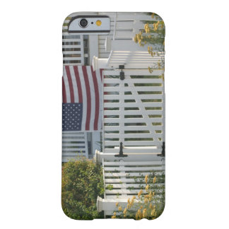 USA, Massachusettes, Gloucester: Patriotic Fence Barely There iPhone 6 Case