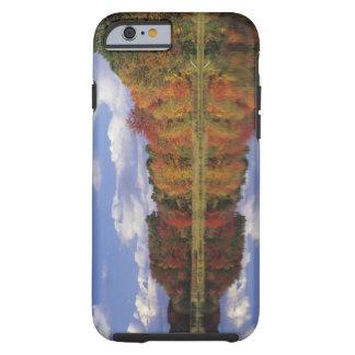 USA, Massachusetts, Acton. Reflection of autumn Tough iPhone 6 Case