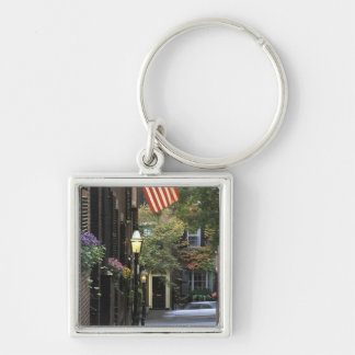 USA, Massachusetts, Boston, Beacon Hill. Key Ring
