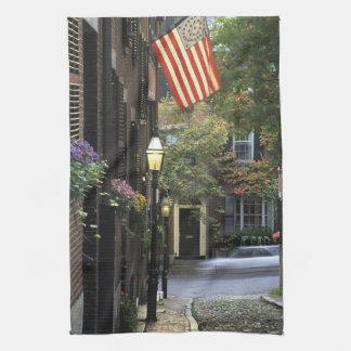 USA, Massachusetts, Boston, Beacon Hill. Kitchen Towels
