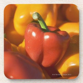 USA, Massachusetts, Boston, bell peppers Coaster