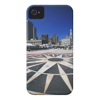 USA, Massachusetts, Boston, Boston harbour iPhone 4 Case-Mate Case
