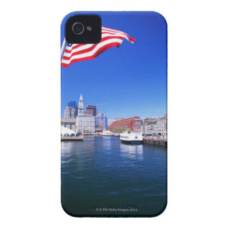 USA, Massachusetts, Boston, Boston harbour, iPhone 4 Case-Mate Case