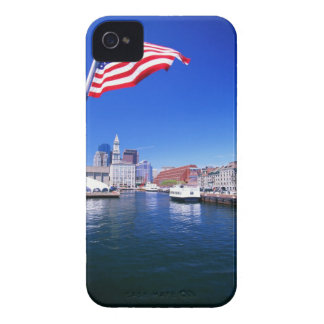 USA, Massachusetts, Boston, Boston harbour, iPhone 4 Cases