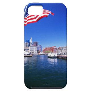 USA, Massachusetts, Boston, Boston harbour, iPhone 5 Cases