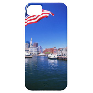 USA, Massachusetts, Boston, Boston harbour, iPhone 5 Covers