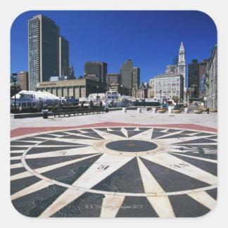 USA, Massachusetts, Boston, Boston harbour Sticker