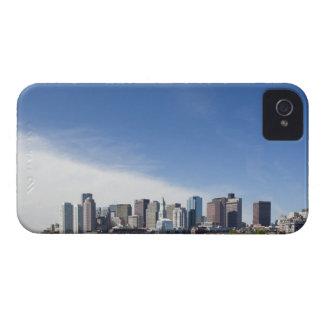 USA, Massachusetts, Boston, City skyline and iPhone 4 Case-Mate Cases