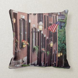 USA, Massachusetts, Boston, Houses Along Acorn Cushion
