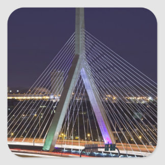 USA, Massachusetts, Boston. Leonard Zakim Square Sticker