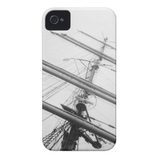 USA, Massachusetts, Boston. Masts of tall ship. Case-Mate iPhone 4 Case