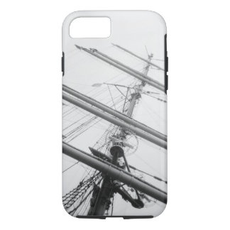 USA, Massachusetts, Boston. Masts of tall ship. iPhone 8/7 Case