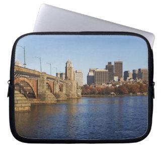 USA, Massachusetts, Boston skyline 2 Laptop Sleeve